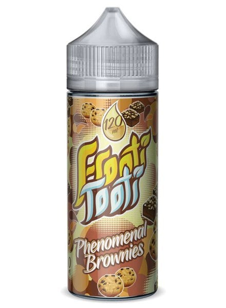 PHENOMENAL BROWNIES E LIQUID BY FROOTI TOOTI 100ML 70VG