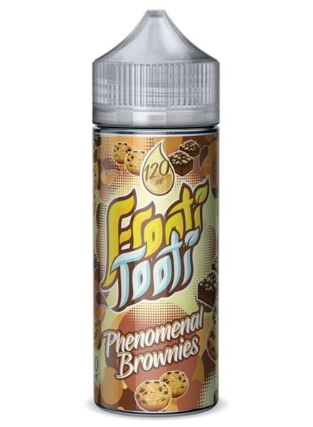 PHENOMENAL BROWNIES E LIQUID BY FROOTI TOOTI 160ML 70VG - Eliquids Outlet