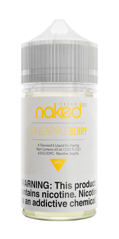 PINEAPPLE BERRY (FORMERLY BERRY LUSH) E LIQUID BY NAKED 100 - CREAM 50ML 70VG - Eliquids Outlet