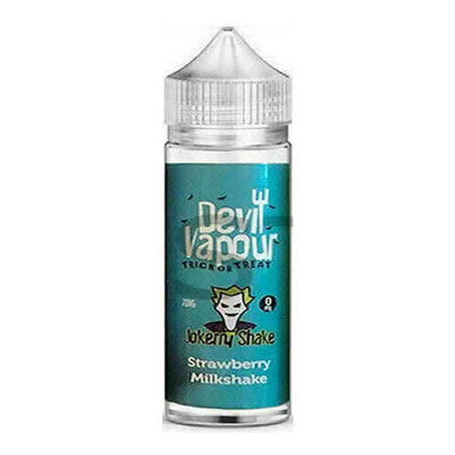 STRAWBERRY MILKSHAKE E LIQUID BY DEVIL VAPOUR 50ML 70VG - Eliquids Outlet