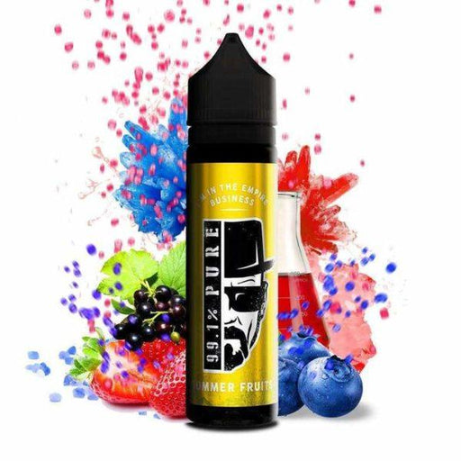 SUMMER FRUITS E LIQUID BY 99.1% PURE 50ML 80VG