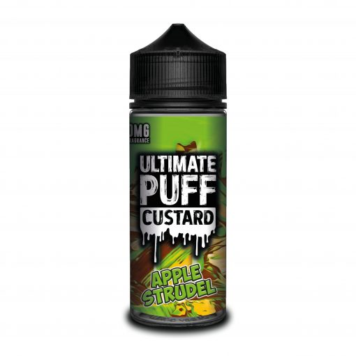APPLE STRUDEL E LIQUID BY ULTIMATE PUFF CUSTARD 100ML 70VG