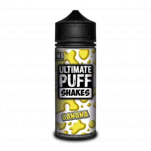 BANANA E LIQUID BY ULTIMATE PUFF SHAKES 100ML 70VG - Eliquids Outlet