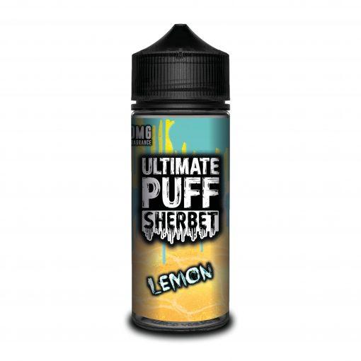 LEMON E LIQUID BY ULTIMATE PUFF SHERBET 100ML 70VG - Eliquids Outlet