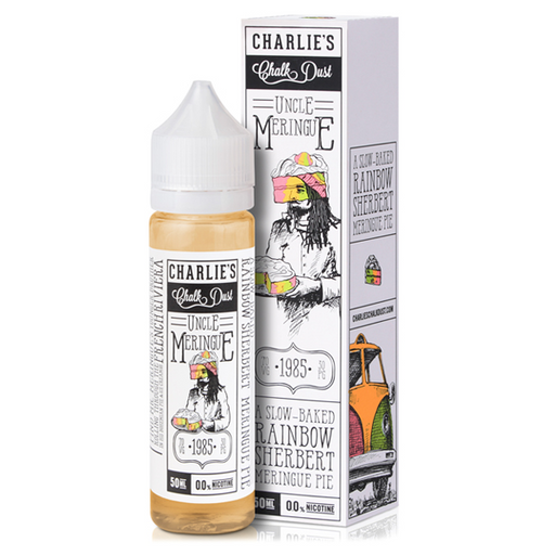 UNCLE MERINGUE E-LIQUID BY CHARILE'S CHALK DUST - MR MERINGUE 50ML 70VG