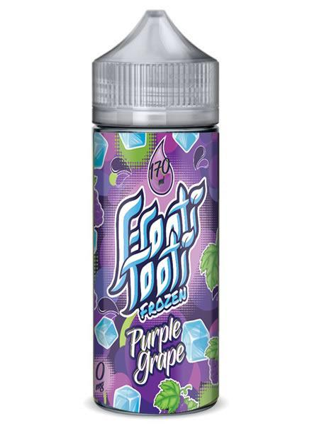 PURPLE GRAPE FROZEN E LIQUID BY FROOTI TOOTI 160ML 70VG - Eliquids Outlet