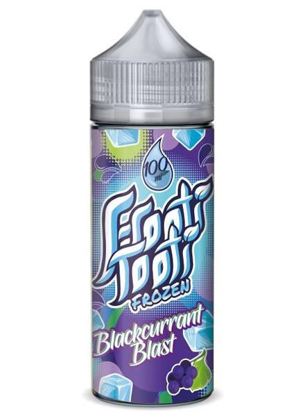 BLACKCURRANT BLAST FROZEN E LIQUID BY FROOTI TOOTI 160ML 70VG - Eliquids Outlet