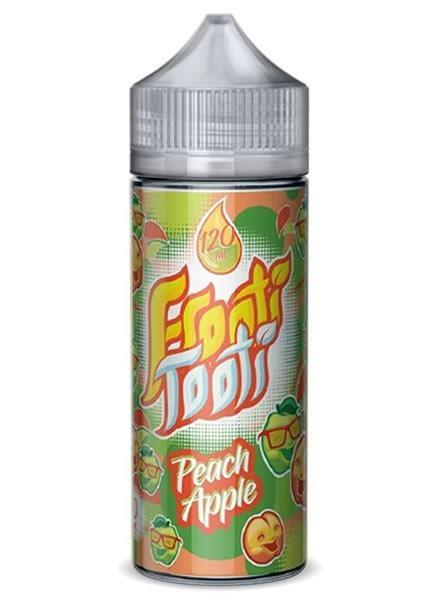 PEACH APPLE E LIQUID BY FROOTI TOOTI 160ML 70VG - Eliquids Outlet