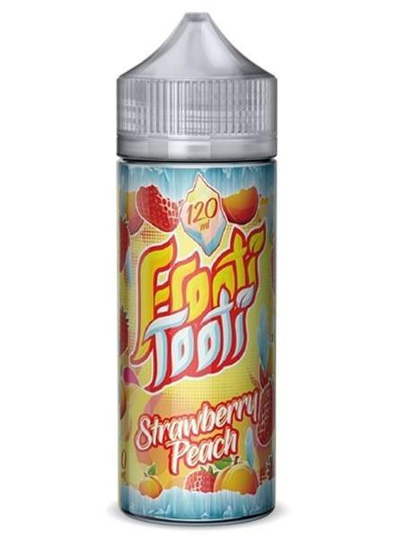STRAWBERRY PEACH FROZEN E LIQUID BY FROOTI TOOTI 160ML 70VG - Eliquids Outlet