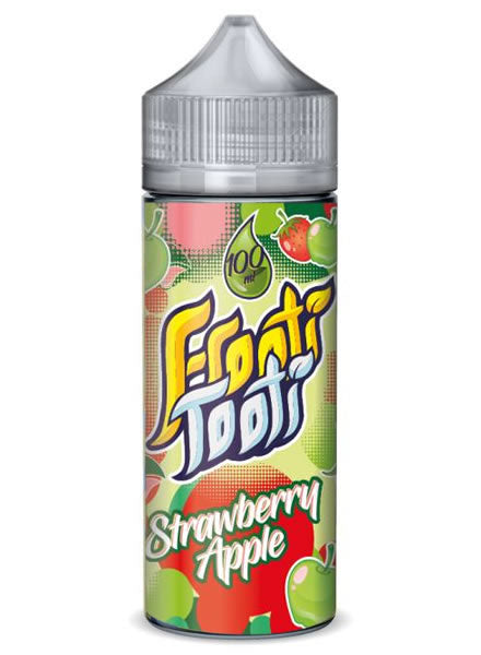 STRAWBERRY APPLE E LIQUID BY FROOTI TOOTI 100ML 70VG