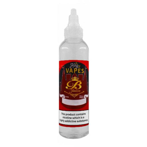 GRAPE, RASPBERRY & BLACKCURRANT E LIQUID BY THE KING OF VAPES - B JUICE 100ML 70VG - Eliquids Outlet