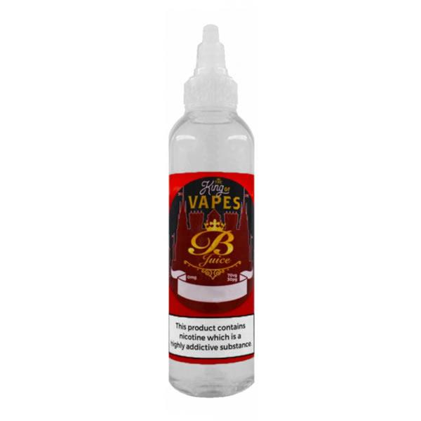 CHERRY E LIQUID BY THE KING OF VAPES - B JUICE 100ML 70VG - Eliquids Outlet