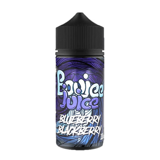 BLUEBERRY BLACKBERRY E LIQUID BY BOUJEE JUICE 100ML 70VG