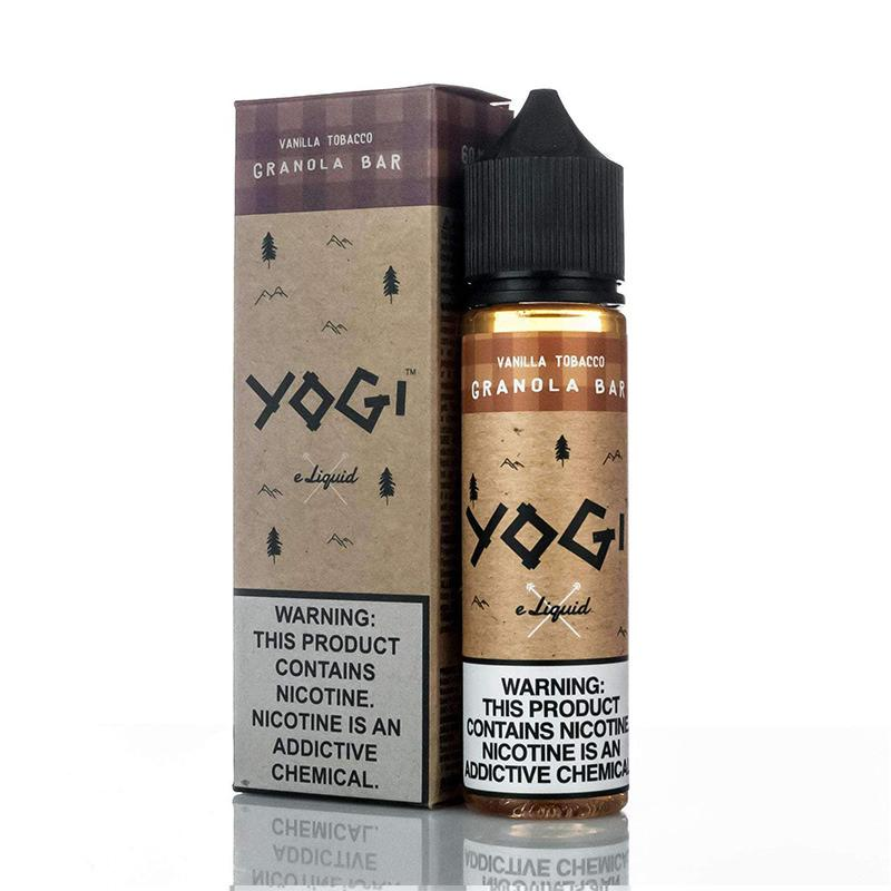 VANILLA TOBACCO E LIQUID BY YOGI GRANOLA BAR 50ML 70VG