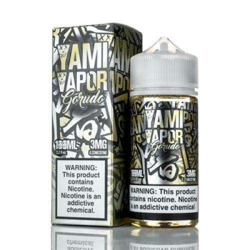 GORUDO E LIQUID BY YAMI VAPOUR 100ML 70VG 100ML 70VG - Eliquids Outlet