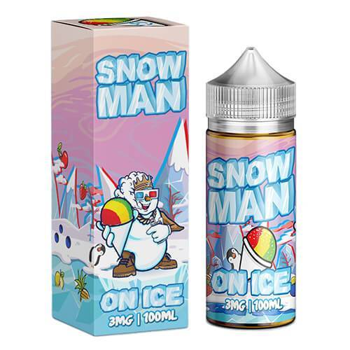 SNOWMAN ON ICE E LIQUID BY JUICE MAN 100ML 70VG - Eliquids Outlet