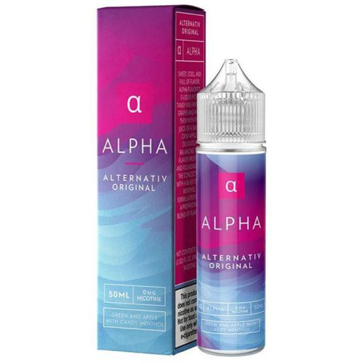 ALPHA E LIQUID BY ALTERNATIV - MARINA VAPES 50ML 70VG - Eliquids Outlet