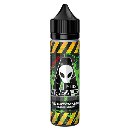 LIL' GREEN MAN E LIQUID BY AREA 51 50ML 50VG