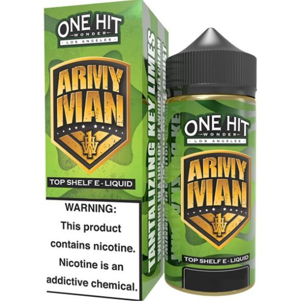 ARMY MAN E LIQUID BY ONE HIT WONDER 100ML 80VG