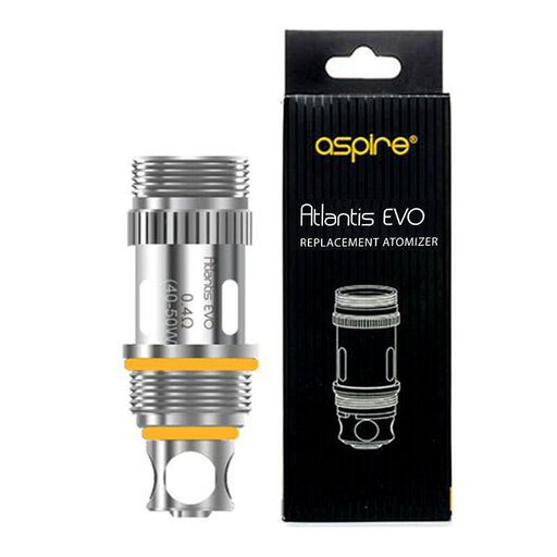 ASPIRE ATLANTIS EVO VAPE ATOMIZER REPLACEMENT COIL HEADS - Eliquids Outlet