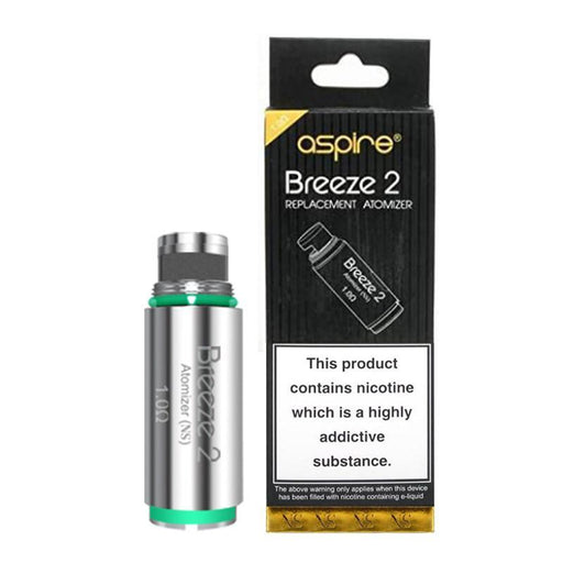 ASPIRE BREEZE VAPE ATOMIZER REPLACEMENT COIL HEADS - Eliquids Outlet