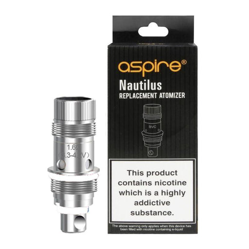 ASPIRE NAUTILUS BVC REPLACEMENT VAPE COILS - Eliquids Outlet