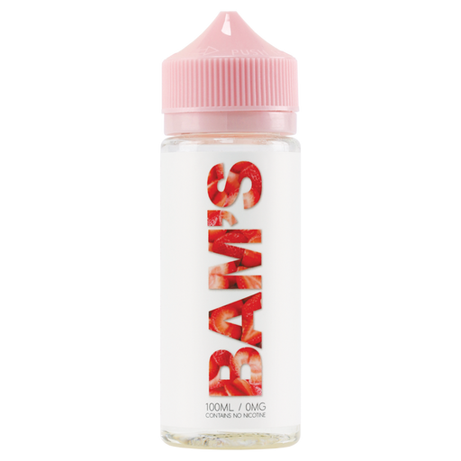 STRAWBERRY E LIQUID BY BAM'S CANNOLI 100ML 70VG