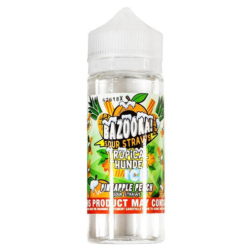 RAINBOW ICE TROPICAL THUNDER E-LIQUID BY BAZOOKA 100ML 70VG - Eliquids Outlet