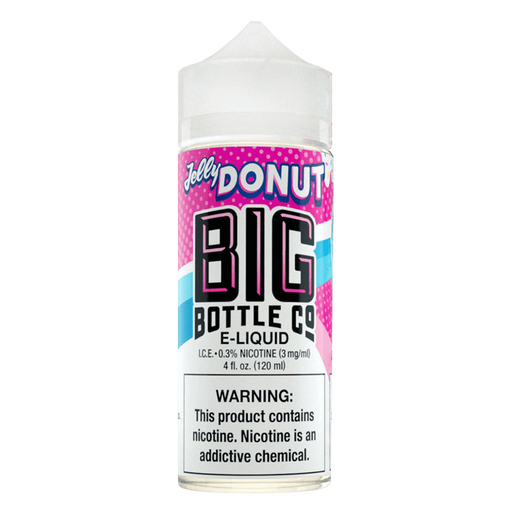 JELLY DONUT E LIQUID BY BIG BOTTLE CO 100ML 70VG