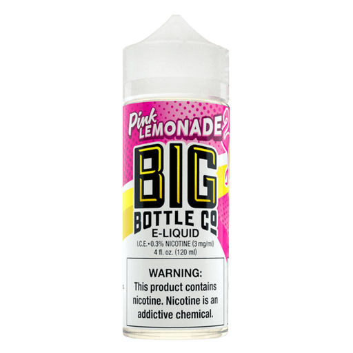 PINK LEMONADE E LIQUID BY BIG BOTTLE CO 100ML 70VG