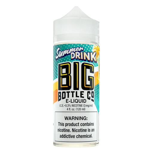 SUMMER DRINK E LIQUID BY BIG BOTTLE CO 100ML 70VG