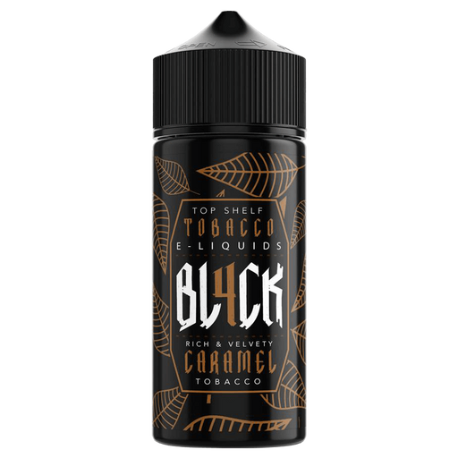 CARAMEL TOBACCO E LIQUID BY BL4CK 100ML 70VG