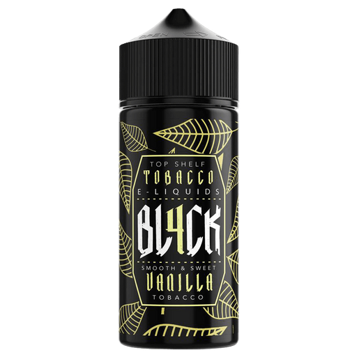 VANILLA TOBACCO E LIQUID BY BL4CK 100ML 70VG