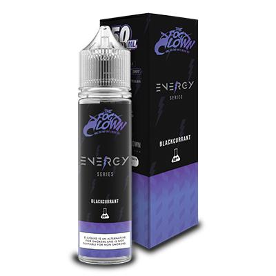 BLACKCURRANT E LIQUID ENERGY SERIES BY FOG CLOWN 50ML 70VG