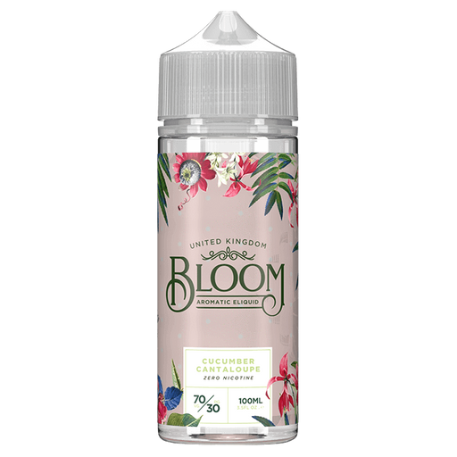 CUCUMBER CANTALOUPE E LIQUID BY BLOOM 100ML 70VG