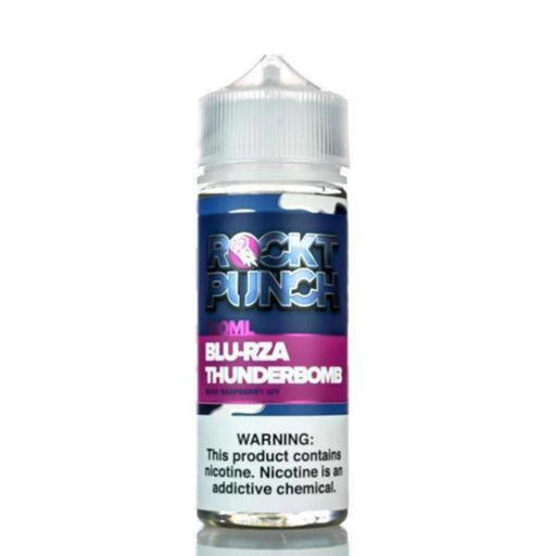 BLU RZA THUNDERBOMB E LIQUID BY OKVMI - ROCKT PUNCH 100ML 70VG