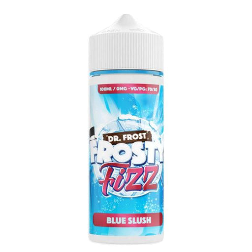 BLUE SLUSH E LIQUID BY DR FROST - FROSTY FIZZ 100ML 70VG - Eliquids Outlet