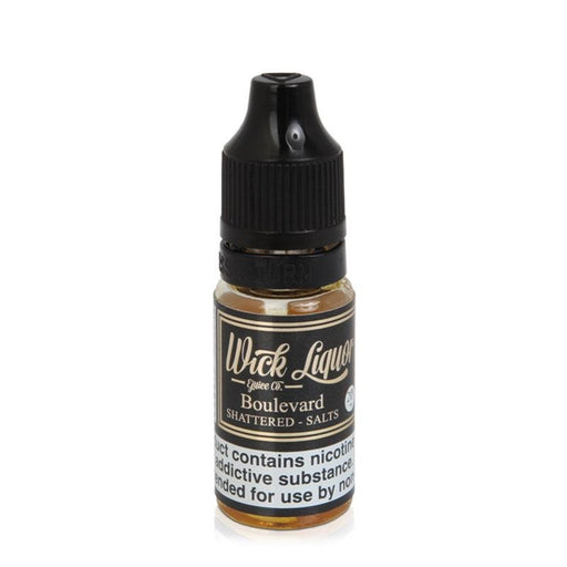 BOULEVARD SHATTERED NICOTINE SALT E-LIQUID BY WICK LIQUOR - Eliquids Outlet