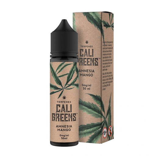 AMNESIA MANGO TERPENESE E LIQUID BY CALI GREEN 50ML 70VG