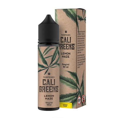 LEMON HAZE TERPENESE E LIQUID BY CALI GREEN 50ML 70VG