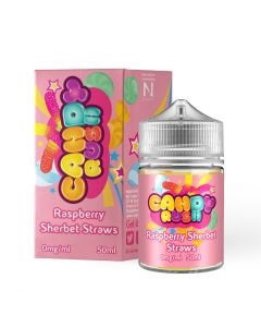 RASPBERRY SHERBET E LIQUID BY CANDY RUSH 50ML 80VG