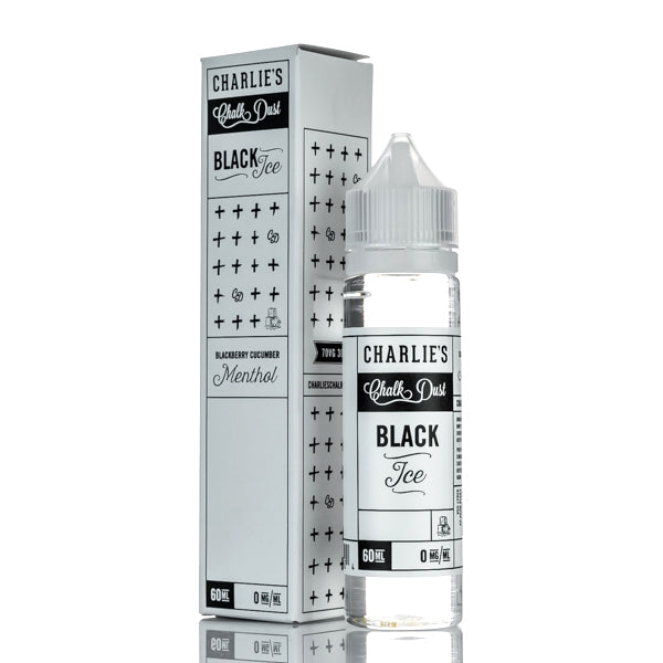 BLACK ICE E-LIQUID BY CHARLIE'S CHALK DUST 50ML 70VG