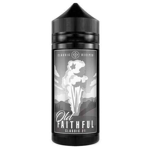 CLASSIC 21 E LIQUID BY OLD FAITHFULL 100ML 70VG - Eliquids Outlet