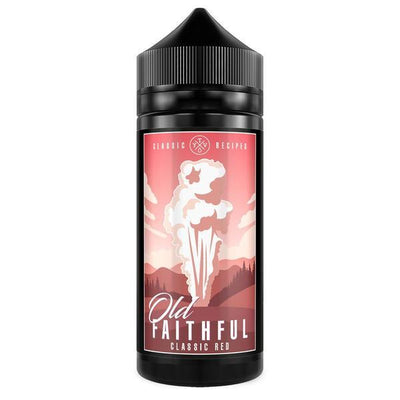 CLASSIC RED E LIQUID BY OLD FAITHFULL 100ML 70VG