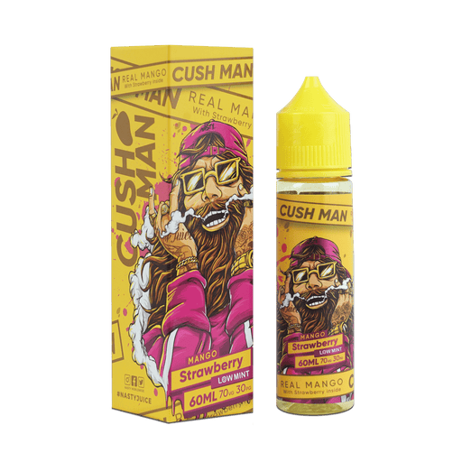 MANGO STRAWBERRY E LIQUID BY NASTY JUICE - CUSHMAN SERIES 50ML 70VG - Eliquids Outlet