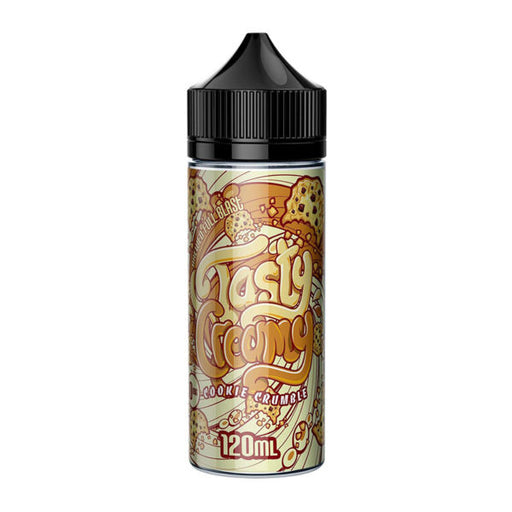 COOKIE CRUMBLE E LIQUID BY TASTY CREAMY 100ML 70VG