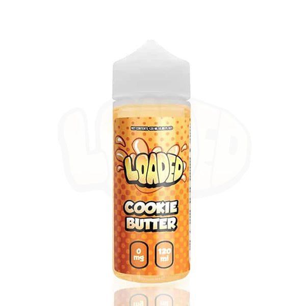 COOKIE BUTTER E LIQUID BY LOADED 100ML 70VG