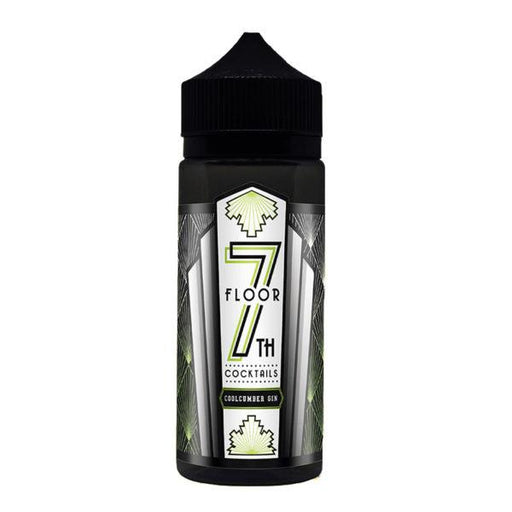 COOLCUMBER GIN E LIQUID BY 7TH FLOOR COCKTAILS 100ML 70VG - Eliquids Outlet