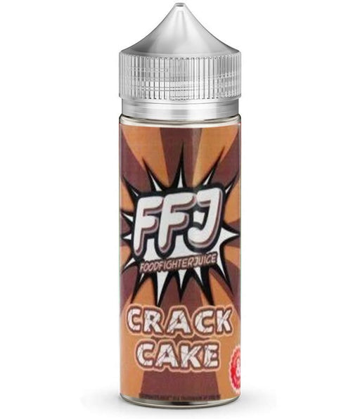 CRACK CAKE E LIQUID BY FOOD FIGHTER JUICE 100ML 80VG