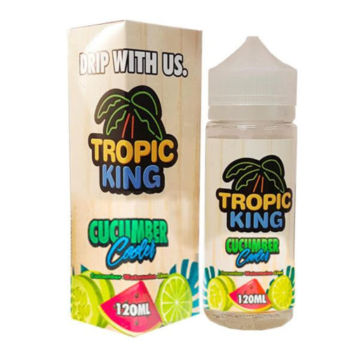CUCUMBER COOLER  E LIQUID BY TROPIC KING 100ML 70VG - Eliquids Outlet